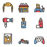Vivid icons