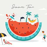 Summer scene design