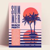여름 컨셉 포스터