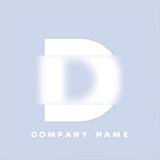 Glassmorphism typography