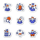 Focus mind icons