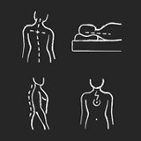 척추 건강 아이콘