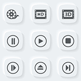 Icons for user interface design