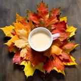 낙엽과 소품