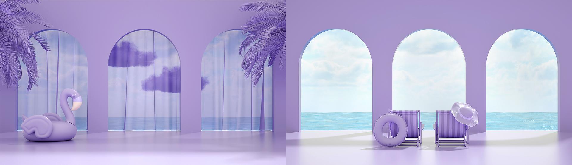 Minimal Summer Background