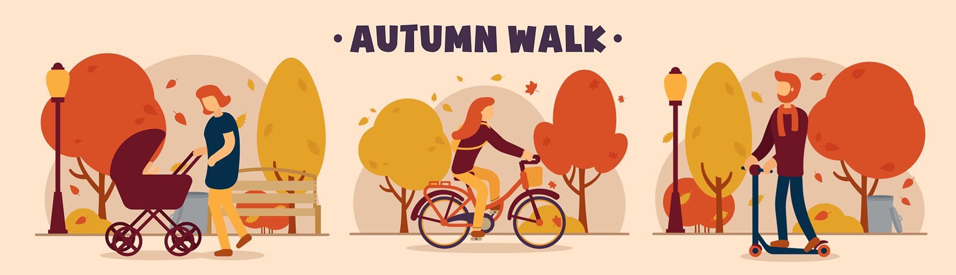 가을 길 산책
